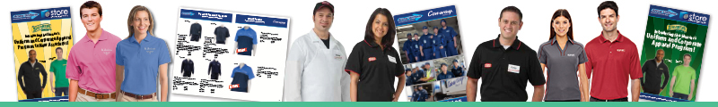 rrow Uniform offers Custom Garment Uniform and Apparel Programs to completely suite your Company needs for business