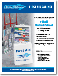 First Aid Cabinet Promotion